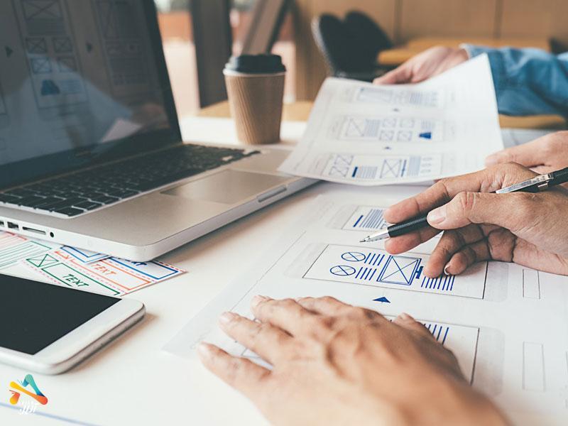 هفت مرحله طراحی وب سایت