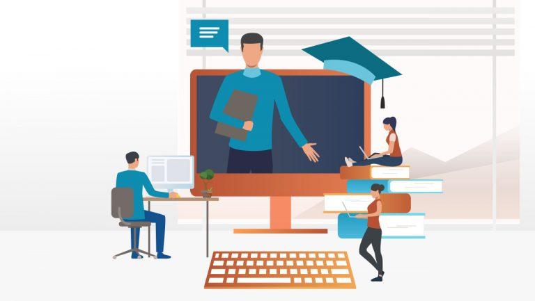 کلاس مجازی و وبینار آنلاین بیگ بلو باتن