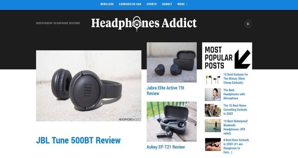 سایت همکاری در فروش Headphones Addict