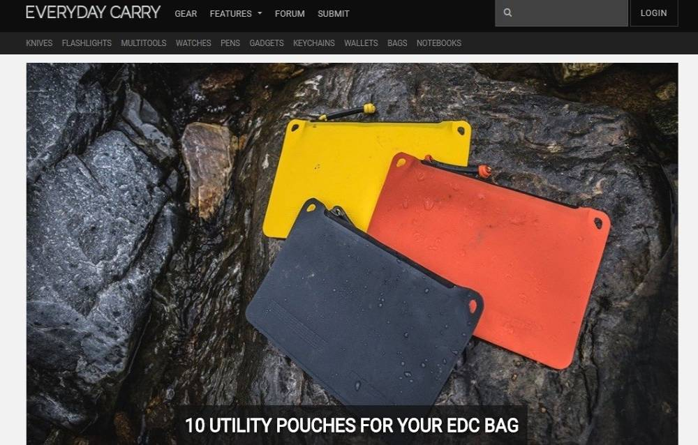 8. سایت بازاریابی افیلیت Everyday Carry