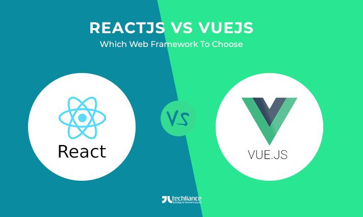 ReactJS-vs-VueJS-Web-Framework