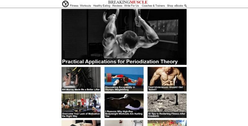 سایت همکار در فروش Breaking Muscle