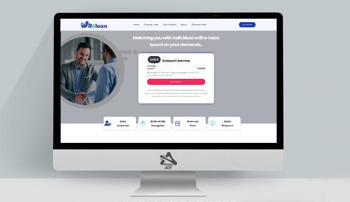 طراحی سایت R6lon